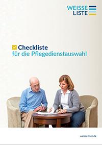 Checkliste für die Pflegedienstauswahl